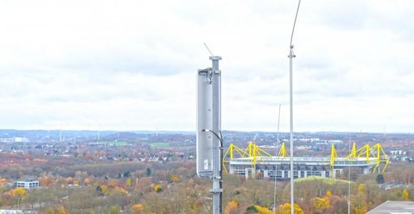 Innogy, 450connect und Ericsson haben das deutschlandweit erste 450-MHz-Funknetz auf LTE-Basis in Dortmund installiert