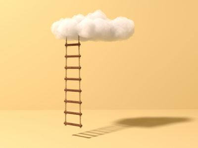 Vor allem in diesen Zeiten mit ungewissen Aussichten drängen Unternehmen darauf, neue Cloud-Services möglichst schnell zu implementieren. Quelle: iStock / TanyaSid
