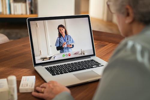 Arztbesuche in Zukunft per digitaler Fernbetreuung